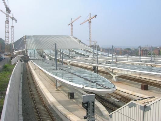 Arquitectura del transporte estaci n de tren - Estacion de tren puerto de santa maria ...