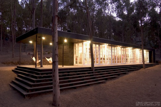 Plataforma Arquitectura » Casa del Bosque / F3 Arquitectos :  architecture home chile casa
