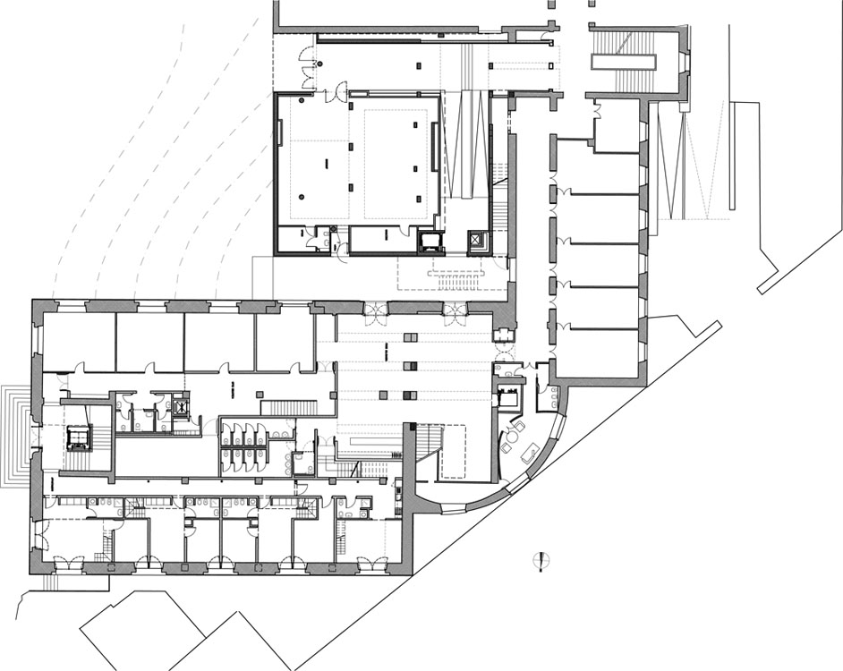 Pul for Planta arquitectonica biblioteca