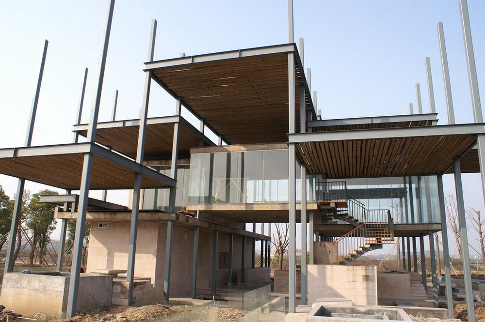 Parque de arquitectura jinhua china plataforma - Estructuras de acero para casas ...