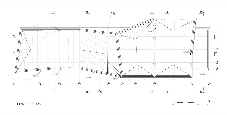 Arquitectura casas unifamiliares part 5 taringa for Formas de techos para casas