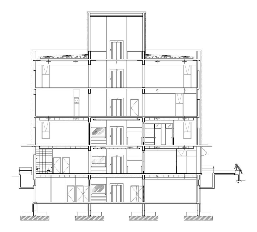 Galer a universidad de las am ricas concepci n d for Arquitectura nota de corte
