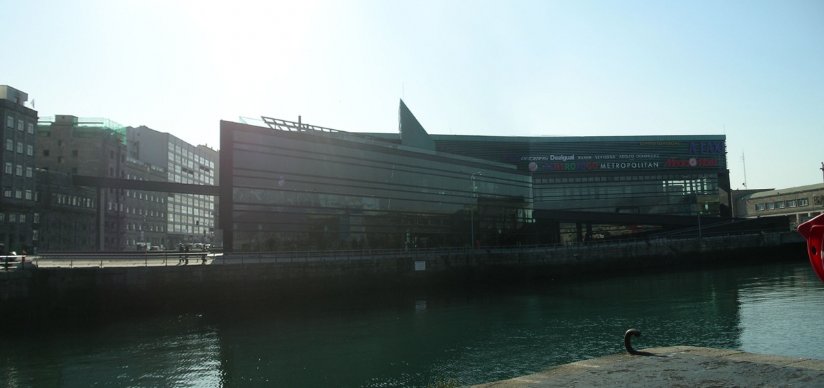 Centro Comercial 39 A Laxe 39 S Enz De O Za Arquitectos