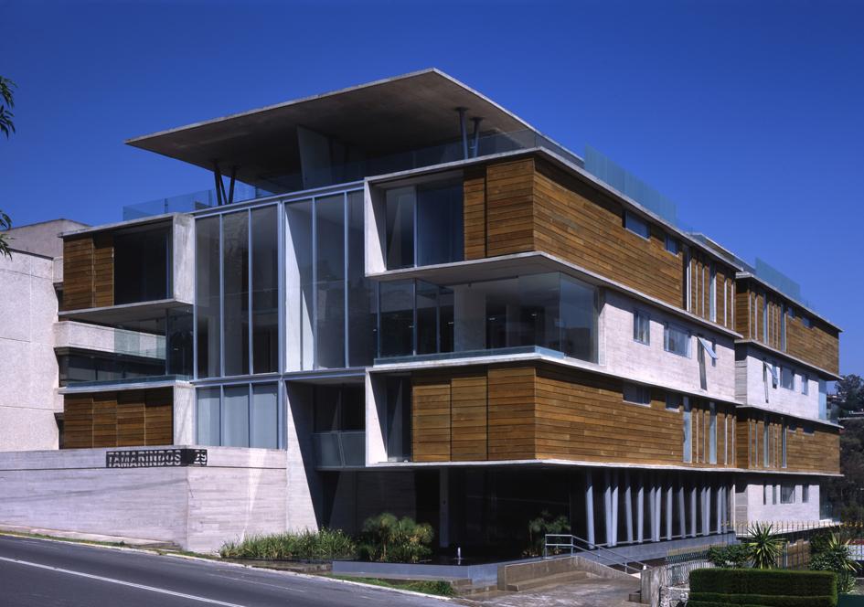 Edificio tamarindos gardu o arquitectos m xico - Edificios minimalistas ...