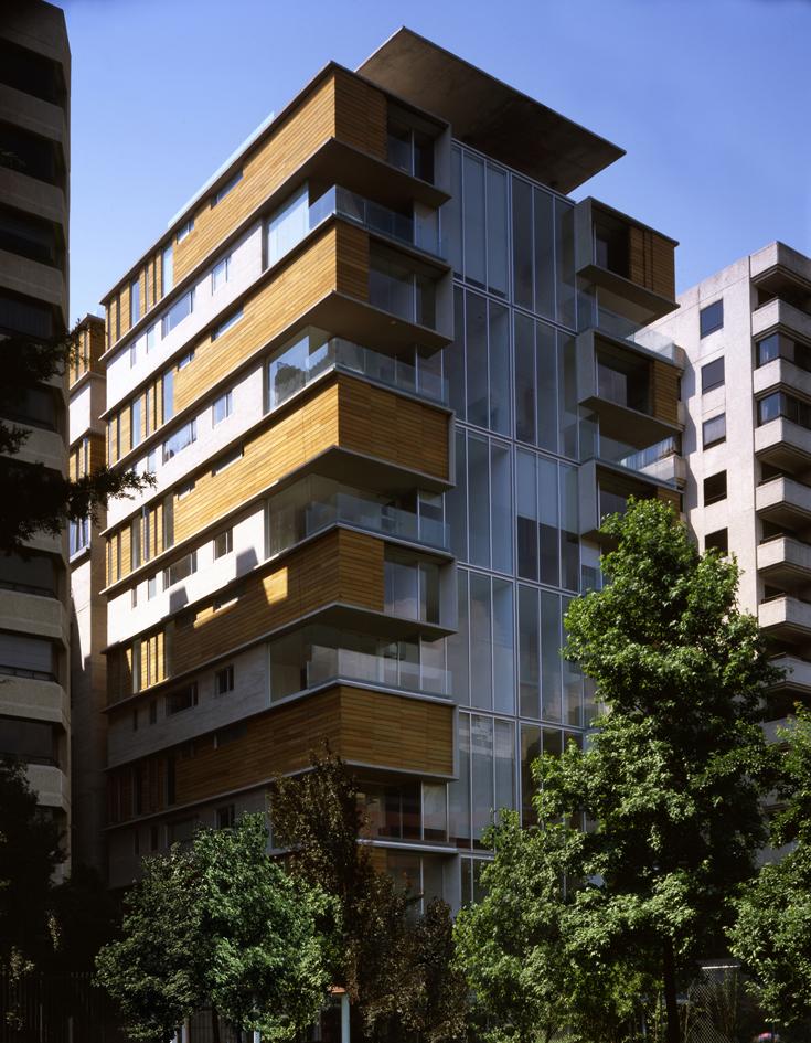 Edificio tamarindos gardu o arquitectos m xico for Arquitectura departamentos modernos