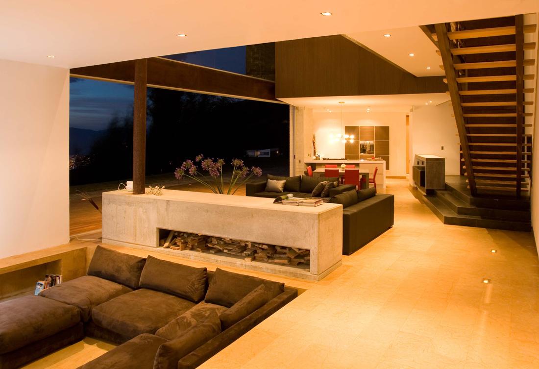 Pin arquitectura moderna y diseno de interiores mindlabb for Casas contemporaneas modernas