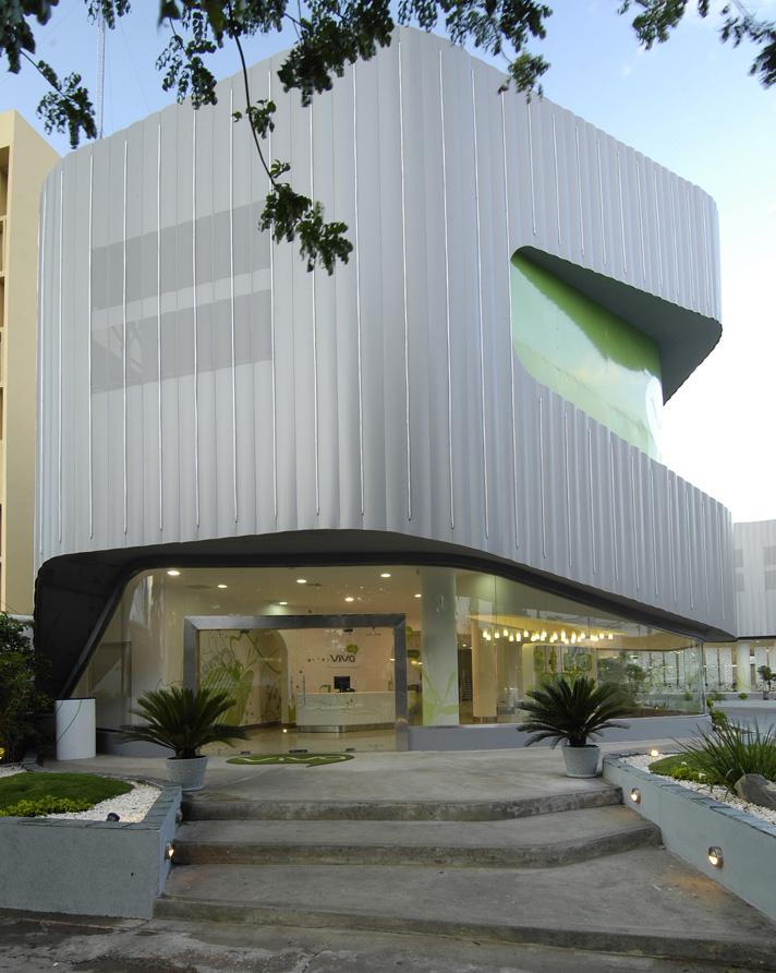Edificio viva dominicana roca paz arquitectura for Plataforma de arquitectura