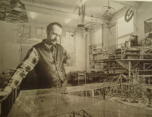 Constant en su estudio, 1967