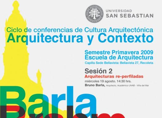 Ciclo de conferencias de cultura arquitect nica sesi n - Escuela superior de arquitectura de san sebastian ...