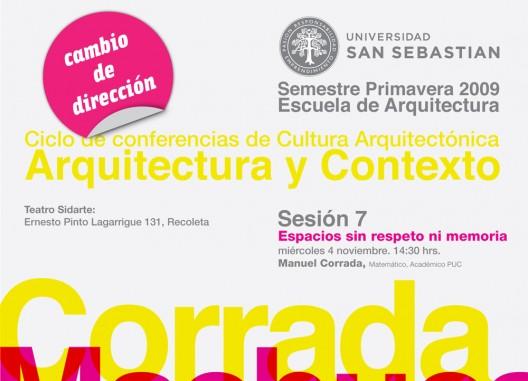 Ciclo de conferencias de cultura arquitect nica - Escuela superior de arquitectura de san sebastian ...