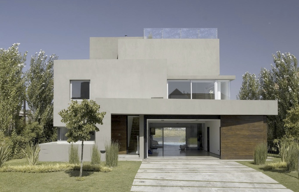 Galer a casa de la cascada andres remy arquitectos 1 for Arquitectos para casas