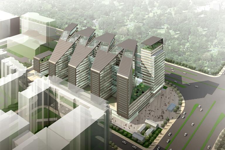 High Tech Architektur: Oficina De Patentes De Bejing / KSP Jürgen Engel