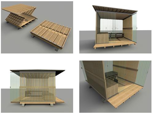 Refugios para hait plataforma arquitectura - Modulos prefabricados para viviendas ...