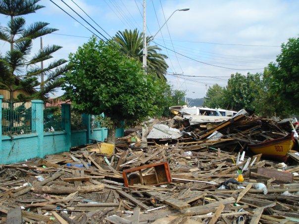 Chile Constitución Avances reconstrucción terremoto 8.8