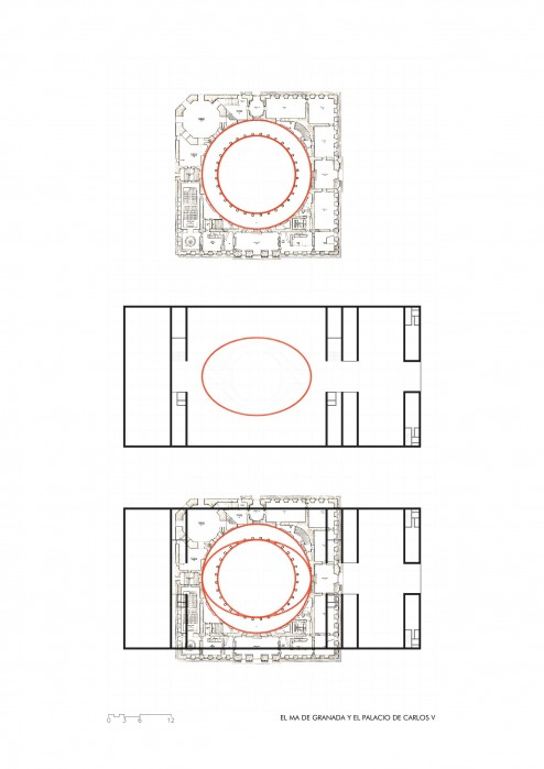 Diagrama patio circular