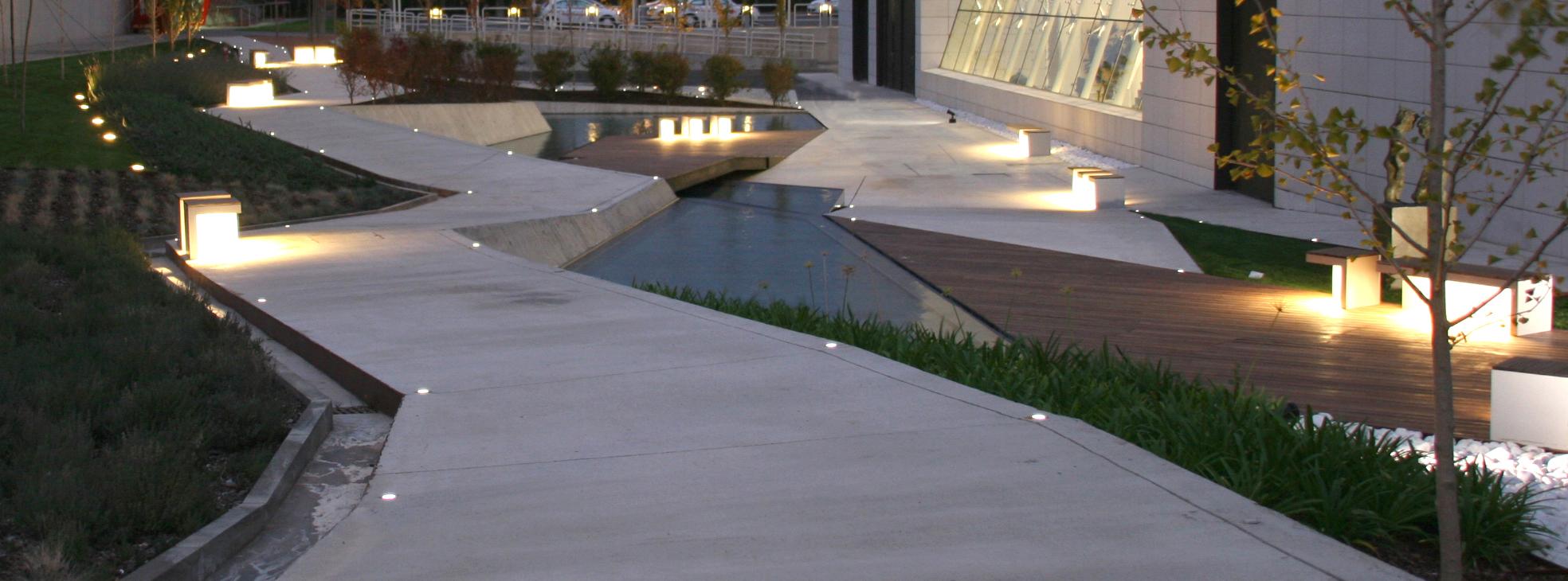 Jardines del museo w rth la rioja en agoncillo logro o for Arquitectura de jardines
