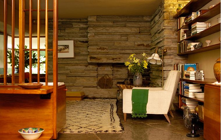 Casa en la cascada frank lloyd wright taringa - La casa de las perchas ...