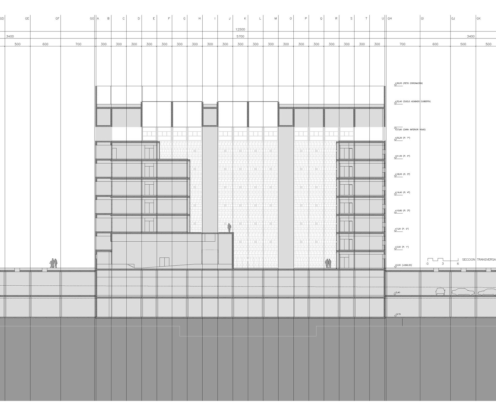 Galer a cl sicos de arquitectura caja granada for Bmn caja granada oficinas