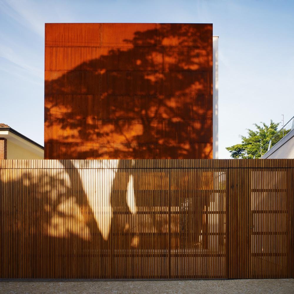 Casa corten marcio kogan planos de casas gratis - Acero corten fachadas ...