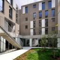 Social Housing in Paris - Frédéric Schlachet Architecte © Frédéric Schlachet-9 © Frédéric Schlachet