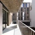 Social Housing in Paris - Frédéric Schlachet Architecte © Frédéric Schlachet-11 © Frédéric Schlachet