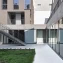 Social Housing in Paris - Frédéric Schlachet Architecte © Frédéric Schlachet-13 © Frédéric Schlachet