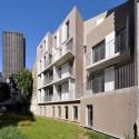 Social Housing in Paris - Frédéric Schlachet Architecte © Frédéric Schlachet © Frédéric Schlachet