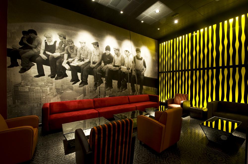 Galer a pub art deco lounge seinfeld arquitectos 1 - Foto deco lounge ...