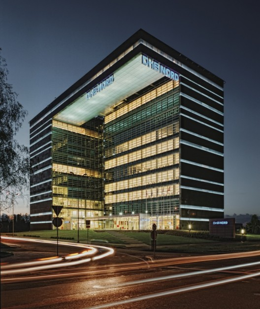 edificio de oficinas dnb nord audrius ambrasas
