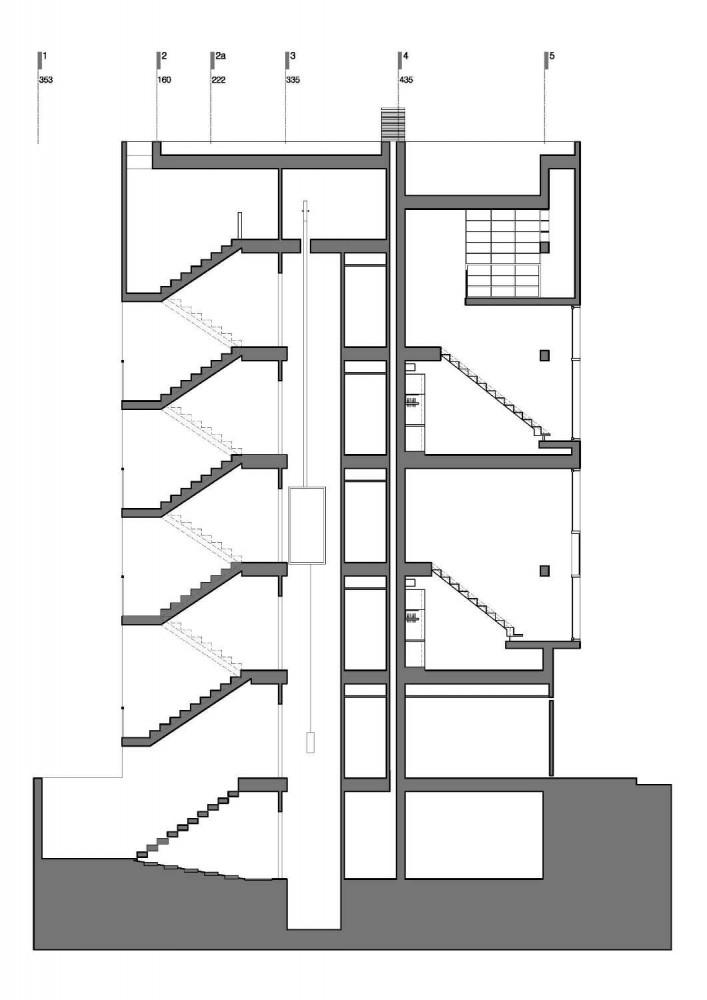 Dos Oficinas, Dos Hermanos / Arsh Design Group 1293719948-corte