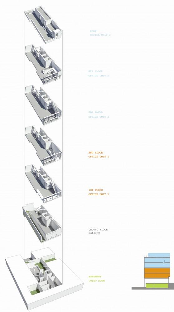 Dos Oficinas, Dos Hermanos / Arsh Design Group 1293719951-diagrama-1