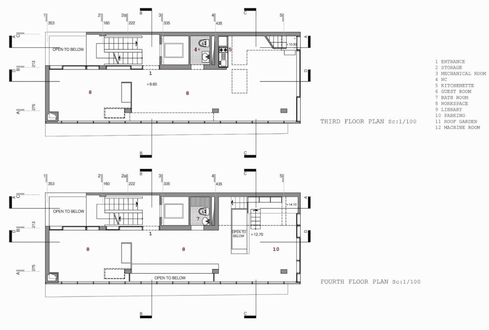 Dos Oficinas, Dos Hermanos / Arsh Design Group 1293719955-plantas-2