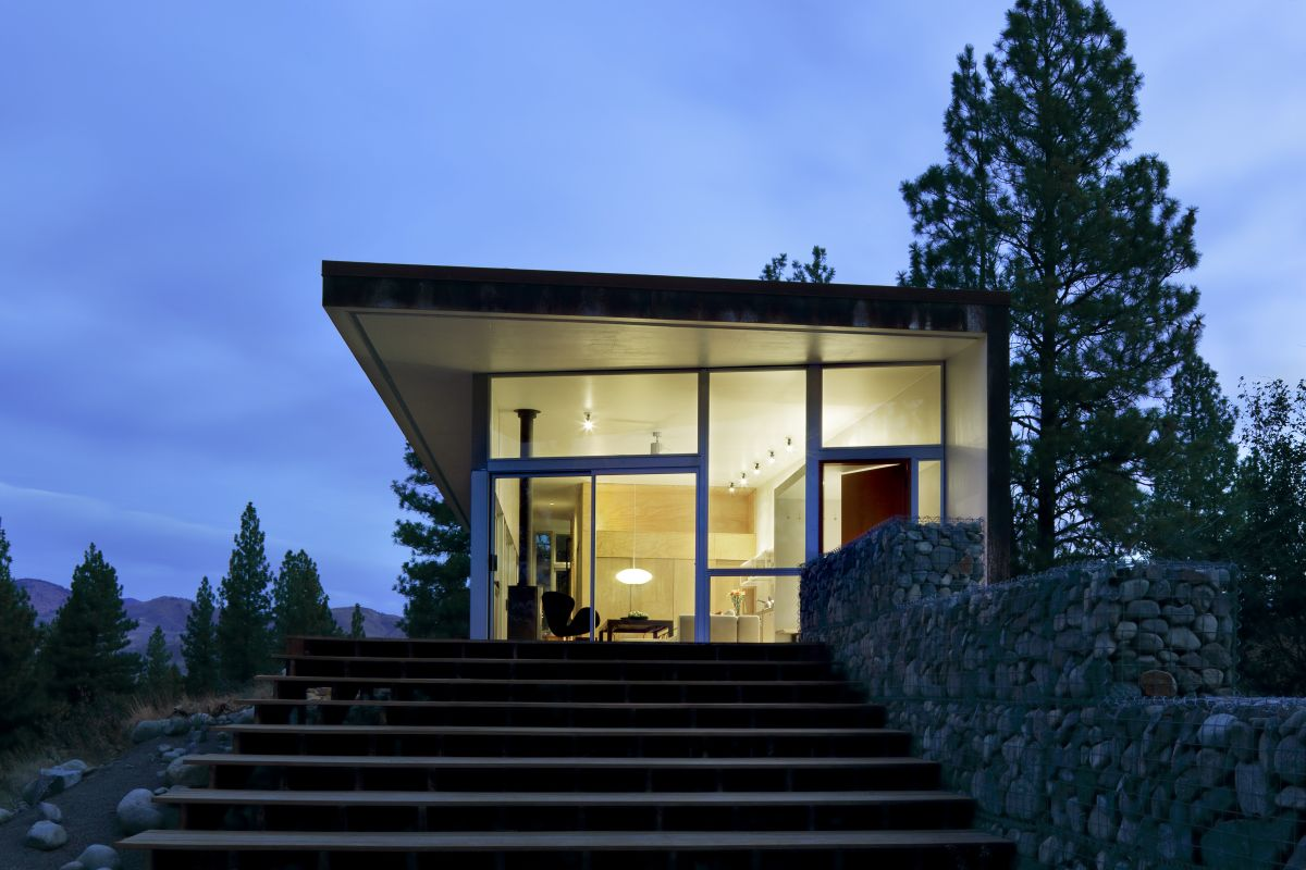 Casa en la colina david coleman architecture planos de for Modern hill house designs