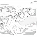 Guangzhou Opera House / Zaha Hadid Architects Planta Nivel 1