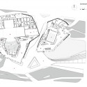 Guangzhou Opera House / Zaha Hadid Architects Planta Nivel 2