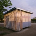 Simple-Tech-Kiosk / partnerundpartner-architekten © partnerundpartner-architekten