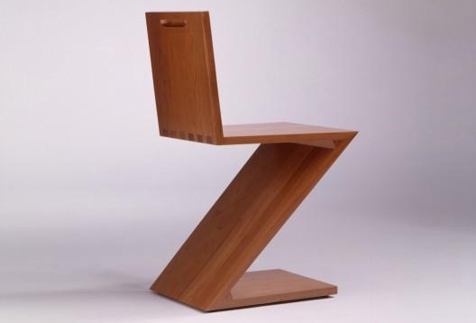 Gerrit rietveld arquitecto y dise ador for Silla zig zag medidas