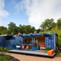 Casa-Container para invitados / Poteet Architects (3) © Chris Cooper
