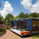 Casa-Container para invitados / Poteet Architects (4) © Chris Cooper