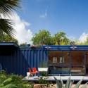 Casa-Container para invitados / Poteet Architects (5) © Chris Cooper