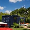 Casa-Container para invitados / Poteet Architects (13) © Chris Cooper