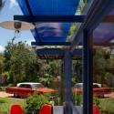 Casa-Container para invitados / Poteet Architects (14) © Chris Cooper