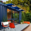 Casa-Container para invitados / Poteet Architects (18) © Chris Cooper