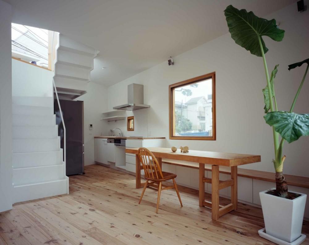 Galeru00eda - Casa Interior u0026 Casa Exterior / Takeshi Hosaka Architects ...