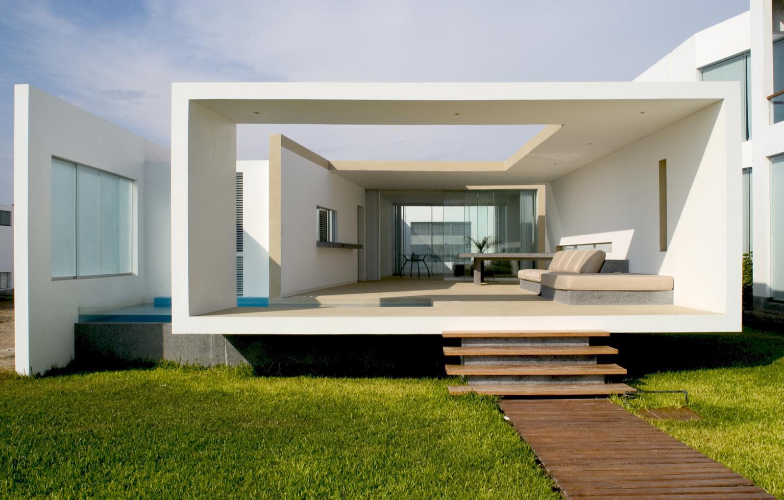 Galer A Casa En Playa En Las Arenas Artadi Arquitecto 1