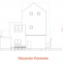 Hostal Caracol / FOAA Elevación Poniente