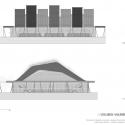 Escenarios Deportivos / Giancarlo Mazzanti + Felipe Mesa (plan:b) Coliseo Voleibol / Elevaciones