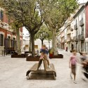 Remodelación del Casco Antiguo de Banyoles /  Josep Miàs (12) Plaça dels Estudis © Adria Goula