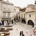 Remodelación del Casco Antiguo de Banyoles /  Josep Miàs (16) Plaça Major © Adria Goula