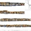 Remodelación del Casco Antiguo de Banyoles /  Josep Miàs (25) Elevación 3 Plaça Major © Josep Miàs